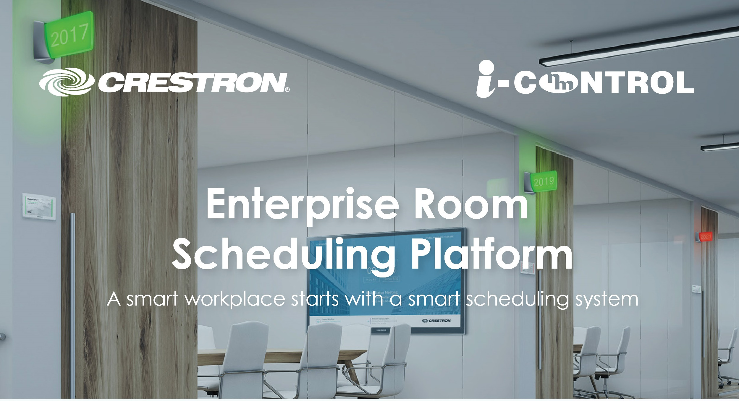 Crestron Room Booking